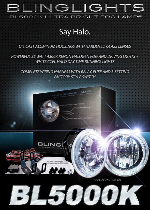 bl5000k 3inch1 2014 2015 chevy camaro halo fog lamps angle eye driving lights ss 2010 Camaro OEM Fog Lights at bayanpartner.co